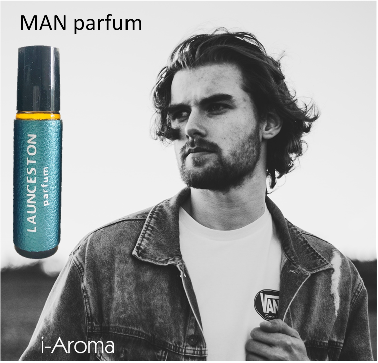 15 ml Launceston MAN Essential Perfume Oil - a 100% natural fragrance designed for the man looking for love. Combining the sweet, oriental floral notes of ylang ylang, the warm and spicy notes of black pepper and ginger on a bed of soft woody-balsamic notes of sandalwood, this alluring scent will attract romance your way.
