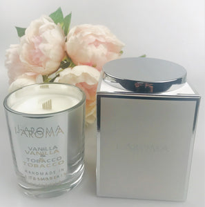 i-Aroma's Vanilla & Tobacco Luxury Candle is a wonderful combination of the leafy and earthy aroma of tobacco combined with the warm and comforting scent of vanilla. The aroma is intoxicating and is a favourite for those who prefer more masculine scents.  Made in Tasmania