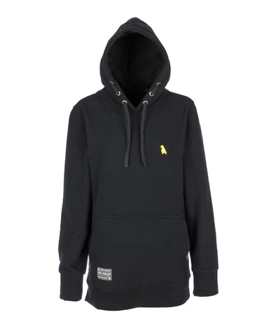 Old Mate Hoodie Slim Fit Black - Yuki Threads