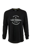 LS Tee Logo Black - Yuki Threads
