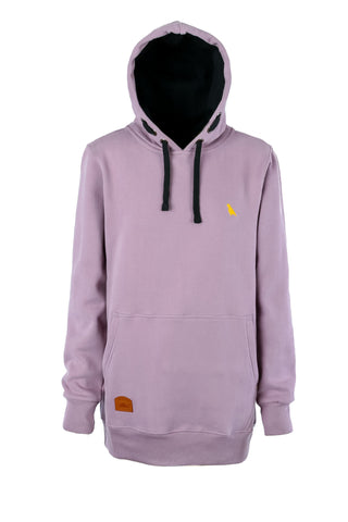 Slim Fit Oldmate Hoodie Dirty Lilac - Yuki Threads