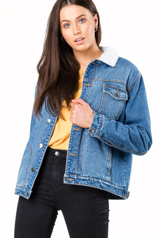 2019 Rusty - Women's Marshall Denim Jacket