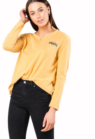 2019 Rusty - Women's Voodoo Long Sleeve Tee