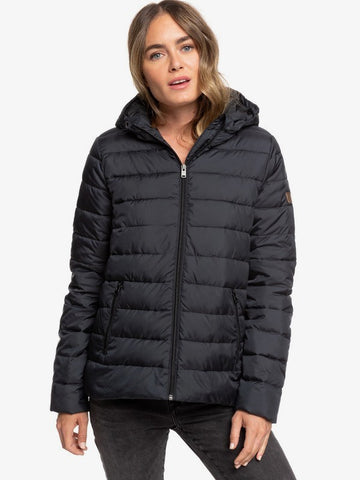 Roxy - Women's Rock Peak Hooded Puffer Jacket