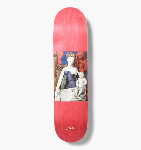 2018 Studio - Red Stain Skate Deck  8.0