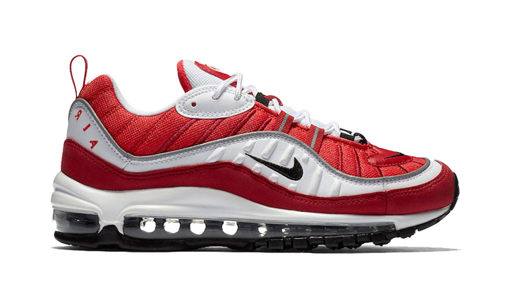 "Nike WMNS Air Max 98 ""Red/White"""