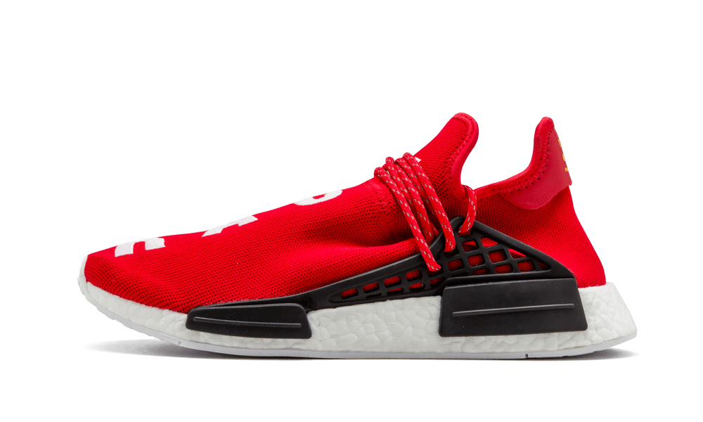 14fe677983bd Pharrell Williams x Adidas NMD Human Race (Scarlet) – Dope Evolution™