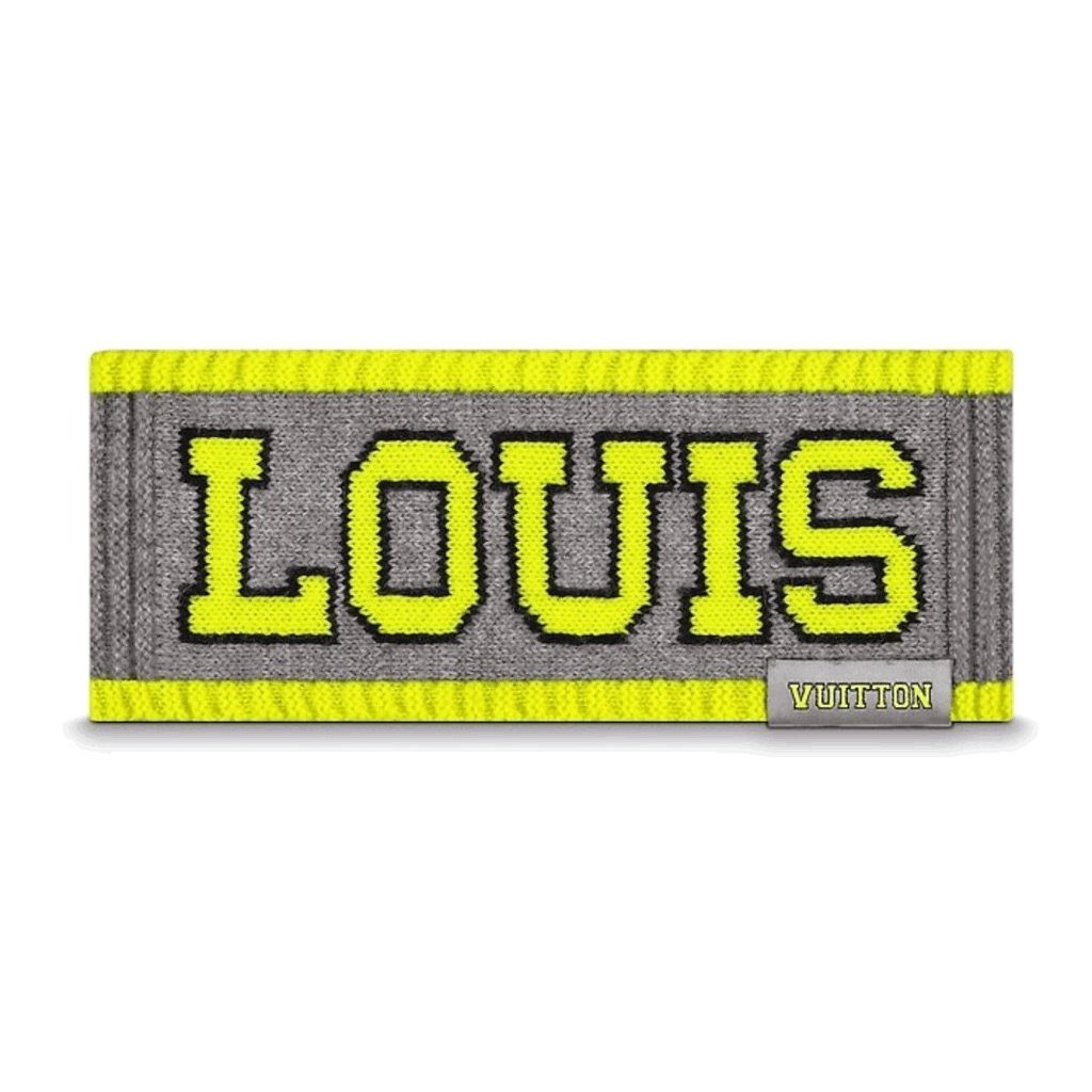 Louis Vuitton FLUO LOUIS HEADBAND – Dope Evolution™ cffbf99d707