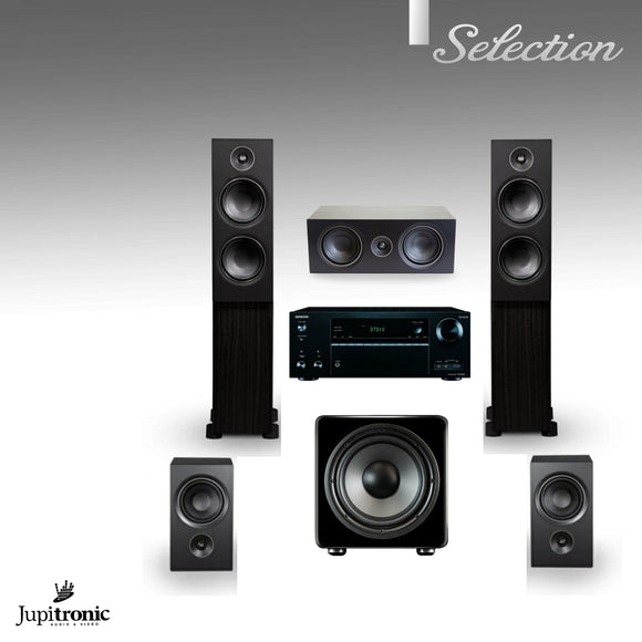 Paquete de Teatro en Casa 5.1 PSB Speakers+Onkyo / Jupitronic Selection