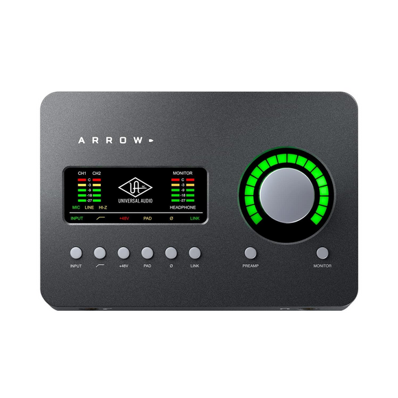Interfase de Audio 2x4, Universal Audio ARROW - Jupitronic Tienda en Linea