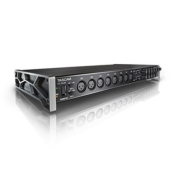 Interfase de Audio USB, Tascam US-16x8 - Jupitronic Tienda en Linea