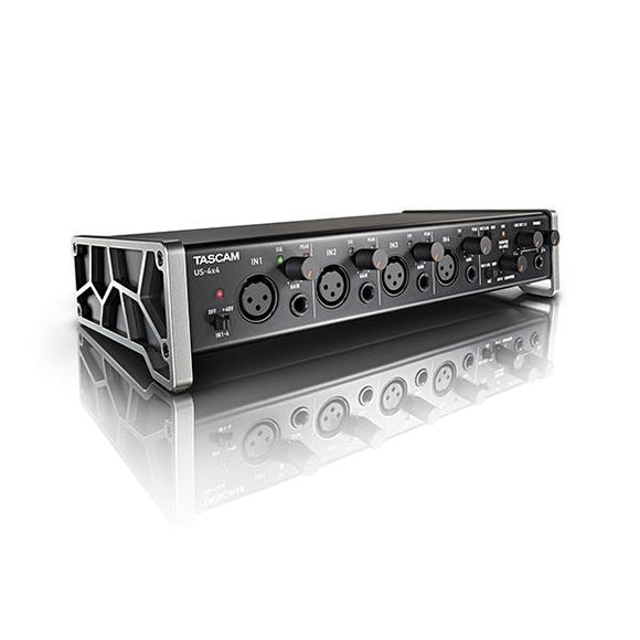 Interfase de Audio USB, Tascam US-4x4 - Jupitronic Tienda en Linea
