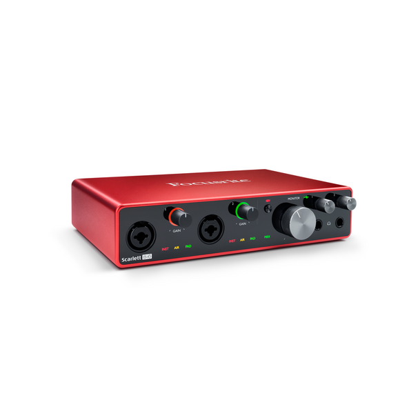 Interfase de Audio USB, Focusrite Scarlett 8i6