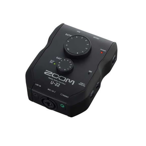 Interface Portátil USB, Zoom U-22