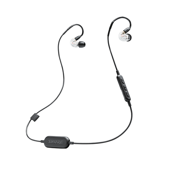 Audífonos In-Ear Wireless, Shure SE215 WLS-BT1 - Jupitronic Tienda en Linea