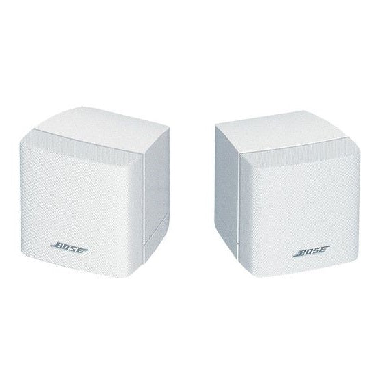 Bocina Satelital, Bose FreeSpace 3 Surface-Mount Satellites