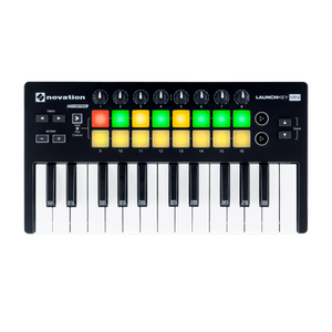 Teclado Controlador USB, Launchkey Mini Novation