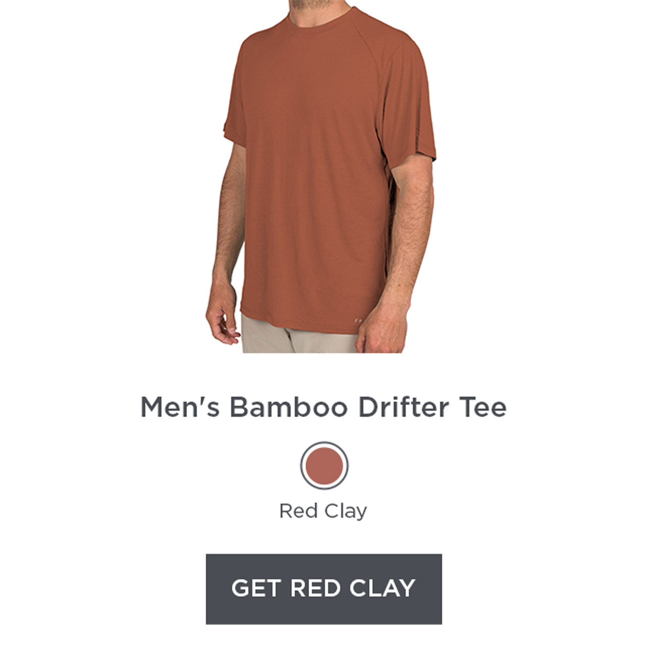 Drifter Tee - Red Clay