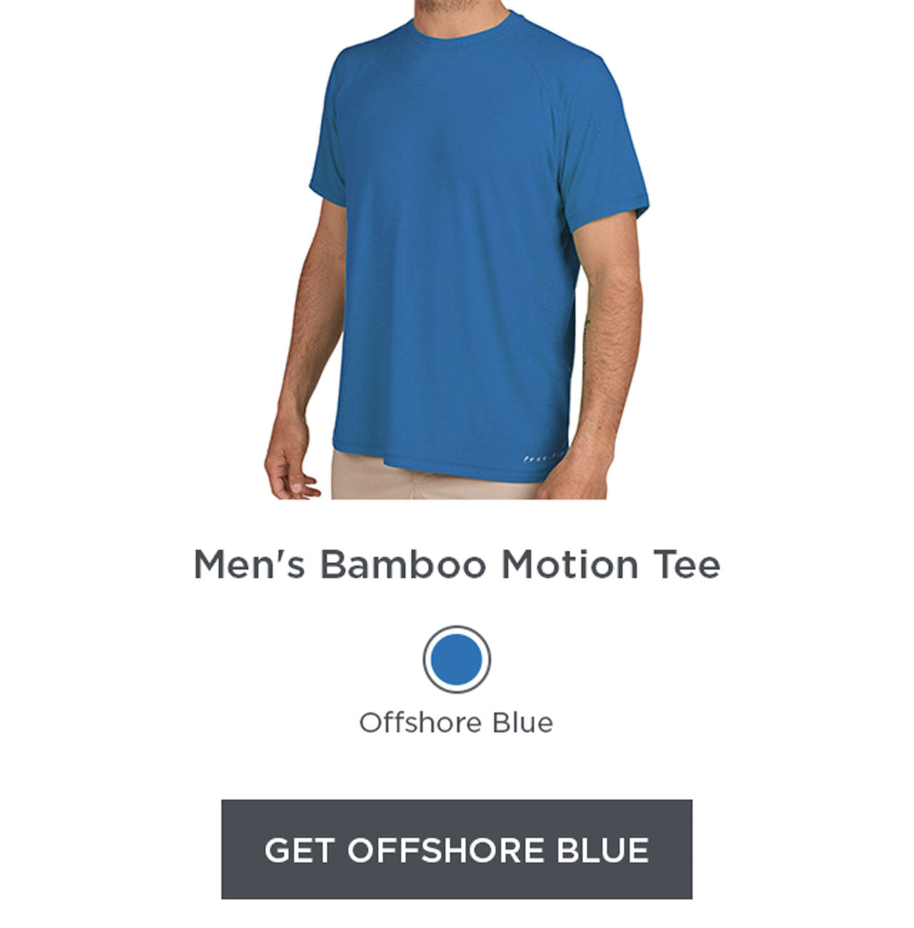 Motion Tee - Offshore Blue