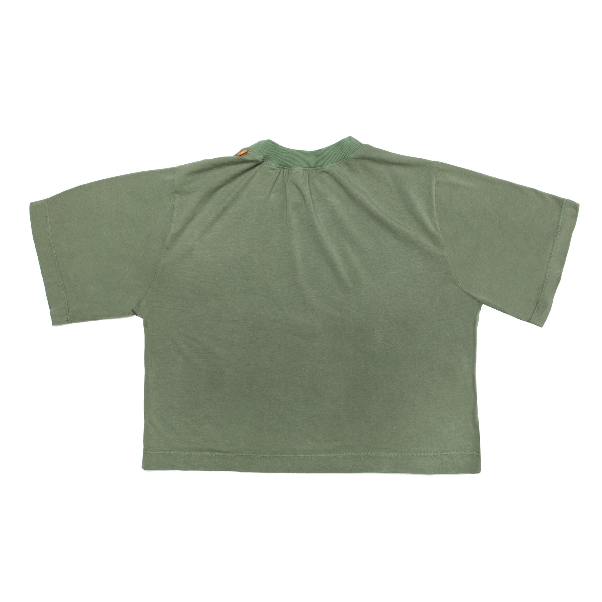 The Green Crop Tee