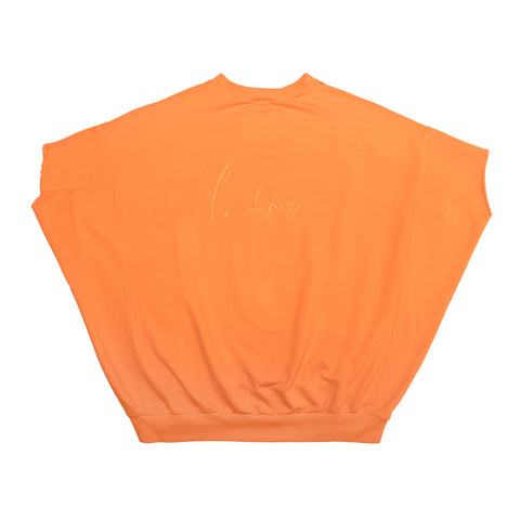 The Orange Short Sleeve Sweatshirt