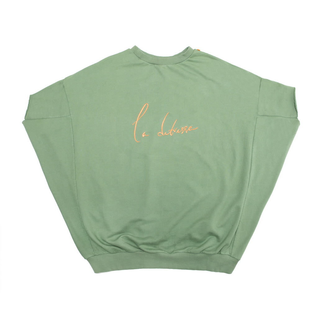 The Green Short Sleeve Sweatshirt