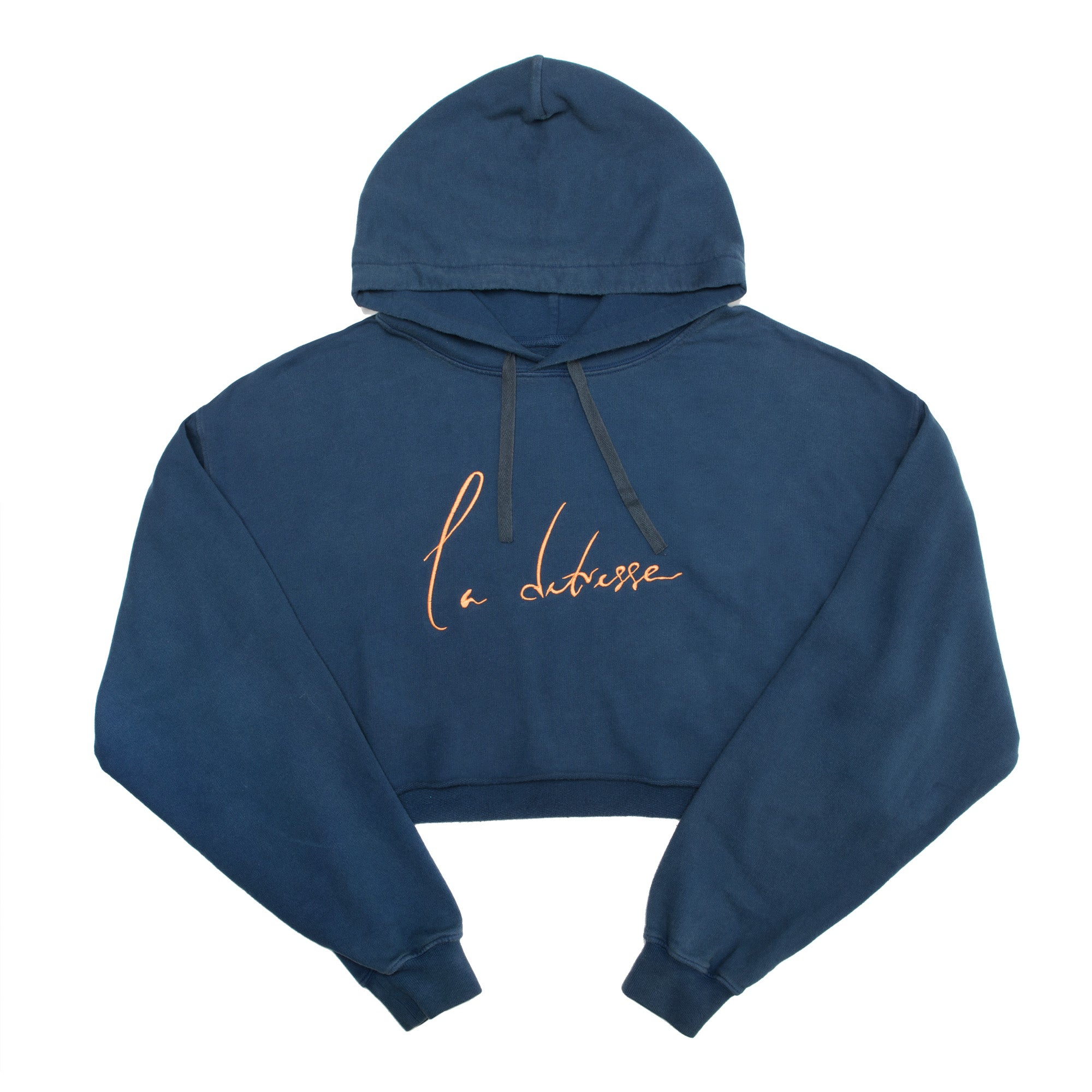 The Blue Crop Hoodie