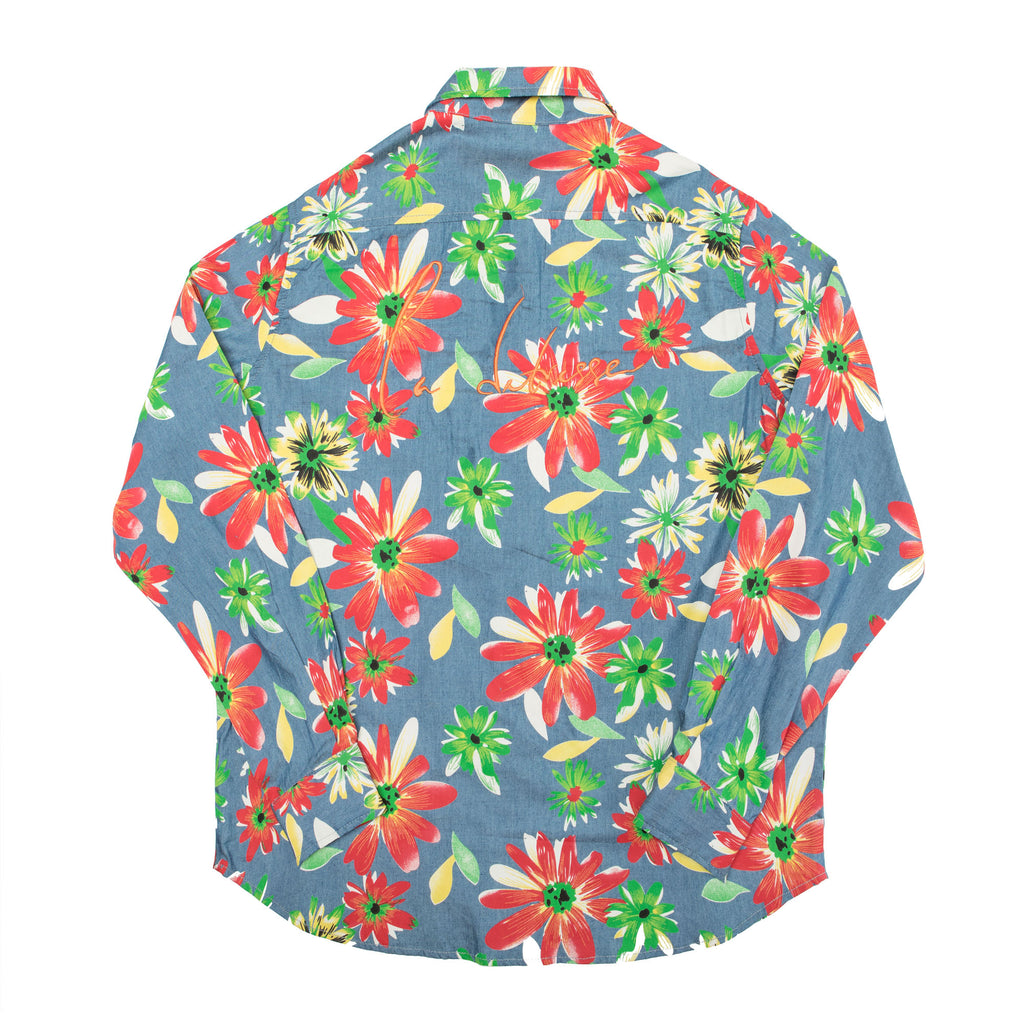 The Floral Button Up