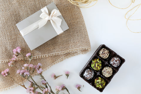 50 Date Truffles Party Tray
