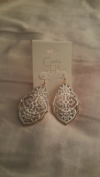 Nora Filigree Drop Earring