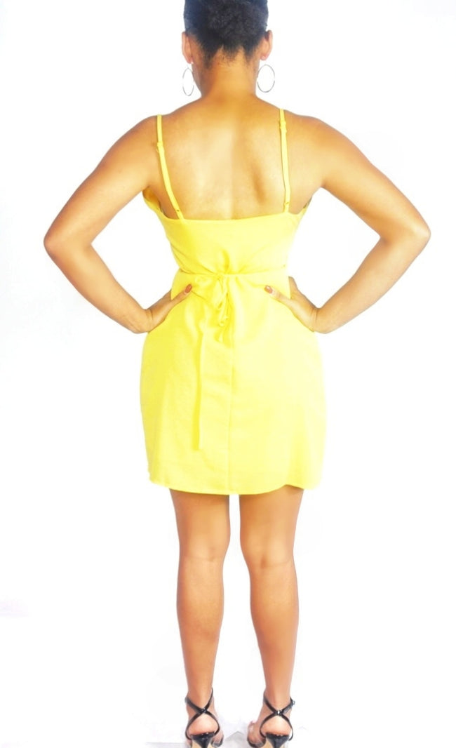 Lemonade Wrap Dress