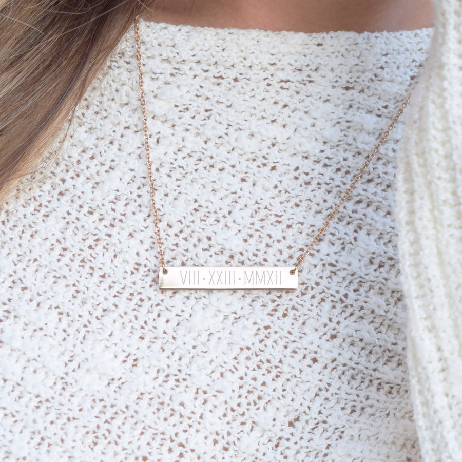 Necklace - custom initial name necklace