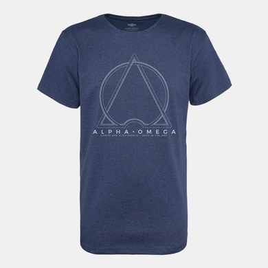 Alpha·Omega Crewneck T-Shirt (By Pure Waste)