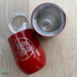 """Diner Logo"" Insulated Cup"