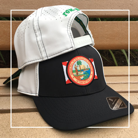 FloriDAN/In Tom we Trust Premium Hat, White