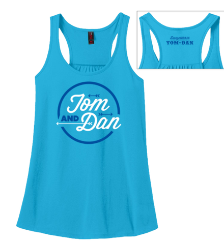 Ladies Diner Flowy Racerback Top