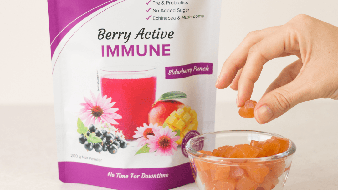 Berry Active Immune Vitamin C Immunity Gummies
