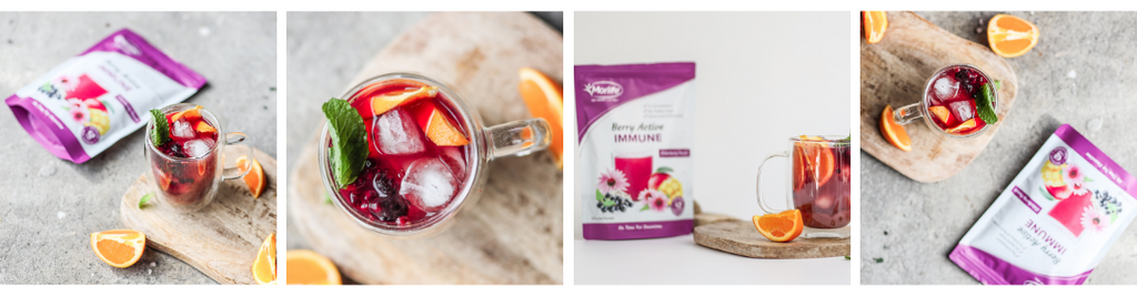 Iced Blackberry Immuni-tea