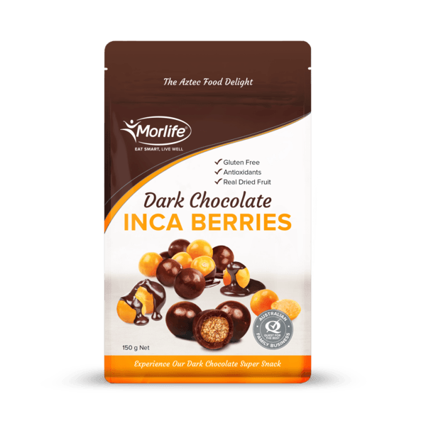 Morlife Dark Chocolate Coated Golden Berries - Healthy Me