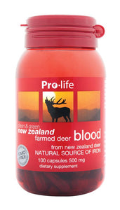 Deer Blood - Healthy Me