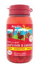 Junior Whole Goat's Milk & Calcium (Chocolate) - Healthy Me