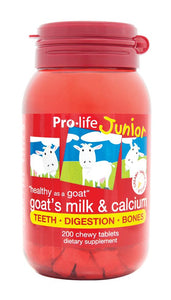 Junior Whole Goat's Milk & Calcium (Vanilla) - Healthy Me