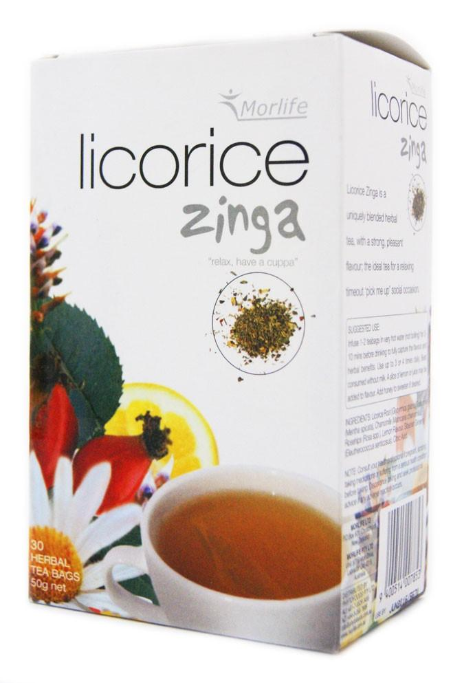 Morlife Licorice Zinga Tea - Healthy Me