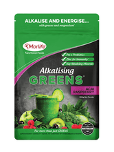 Morlife Alkalising Greens (Acai Raspberry) - Healthy Me