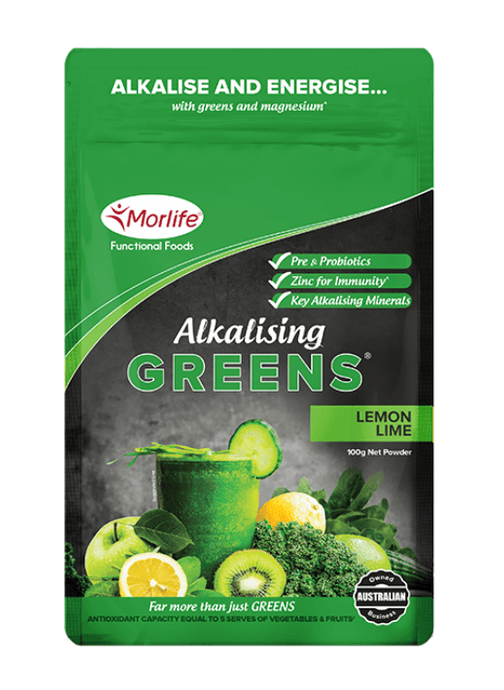 Alkalising Greens Lemon Lime - Healthy Me