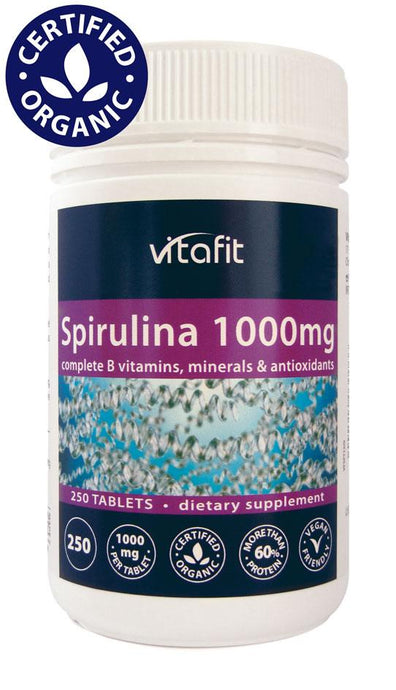 Spirulina 1000mg (Tablets) - Healthy Me