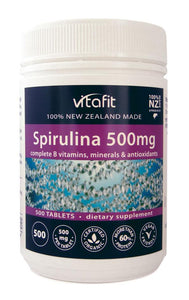 Spirulina 500mg (Tablets) - Healthy Me