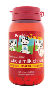 Junior Whole Milk Chews (Vanilla) - Healthy Me