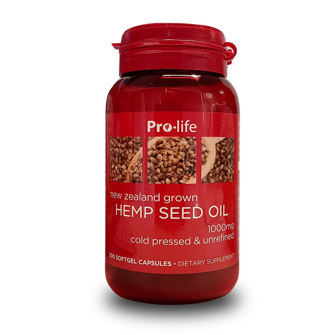 Hemp Seed Oil - Healthy Me