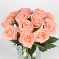 Free Shipping(11pcs/Lot) Fresh rose Artificial Flowers Real Touch rose Flowers, Home decorations for Wedding Party or Birthday